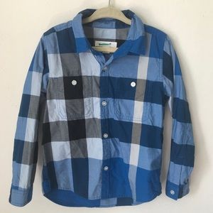 BURBERRY CHECK SHIRT perfect condition boys size 4